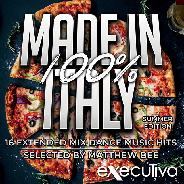 100% Made In Italy - Summer Edition - 16 Extended Mix Dance Music Hits