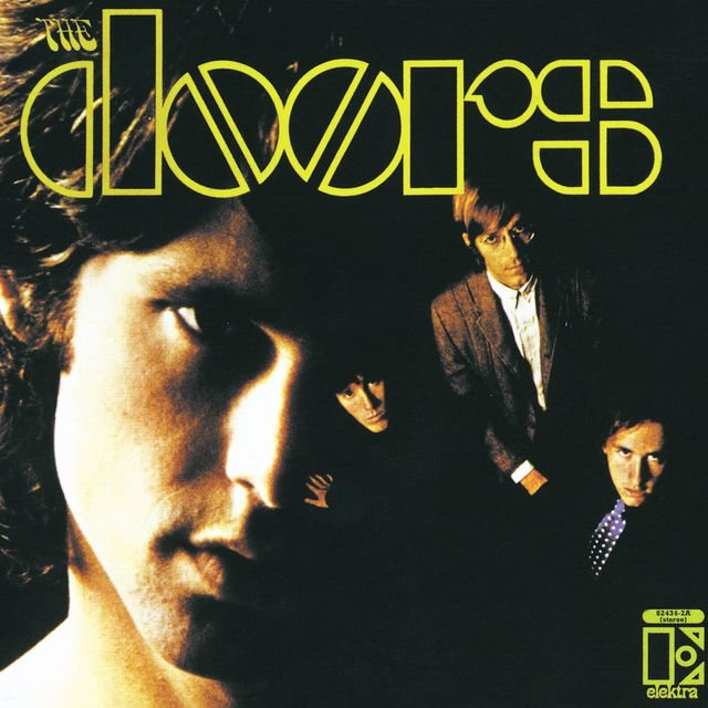 Cover art for album  by The Doors