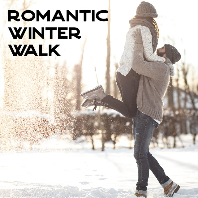 Romantic Winter Walk – Jazz Music Background for a Date, Couple with Love, Kiss