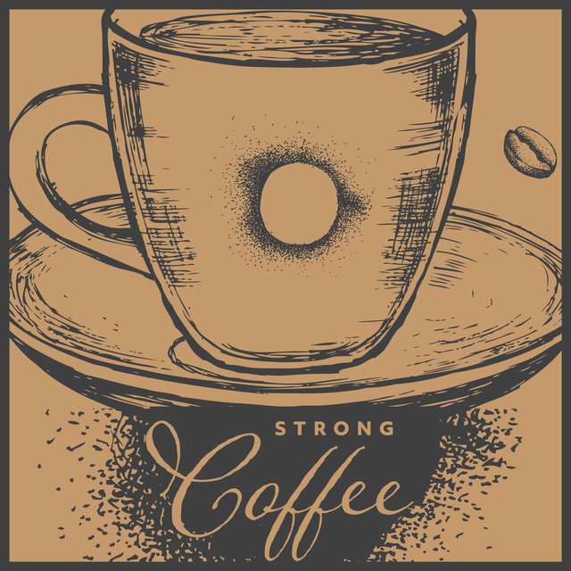 Strong Coffee – BGM Cafe, Easy Listening, Relaxation