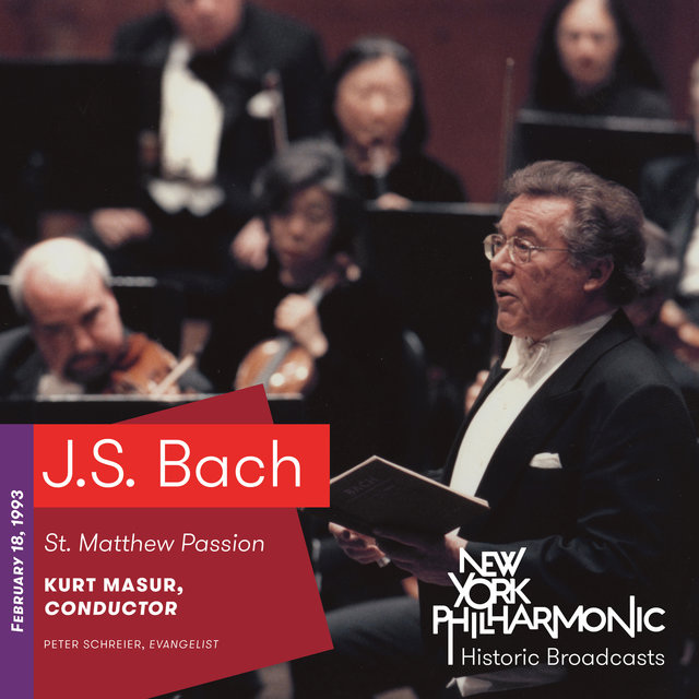 J.S. Bach: St. Matthew Passion (Recorded 1993)