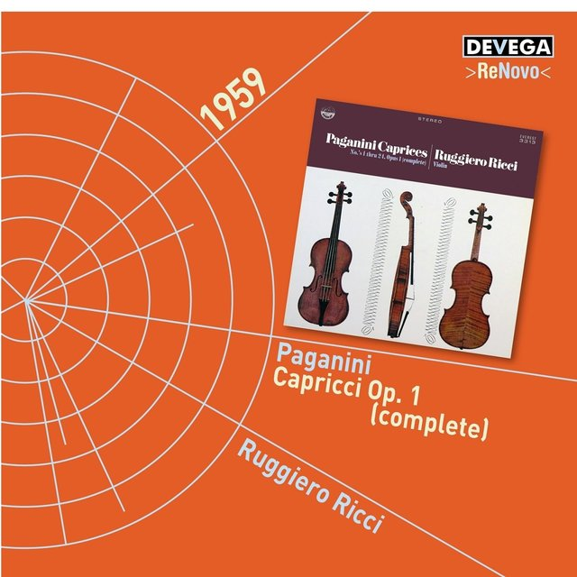 Paganini: 24 Caprices for Violin, Op.1 (Complete)
