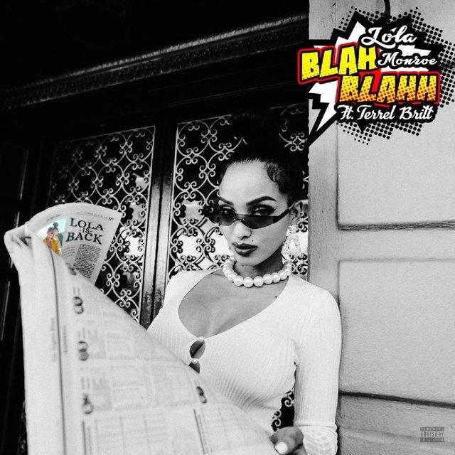 Cover art for album Blah Blah by Lola Monroe, Terrel Britt