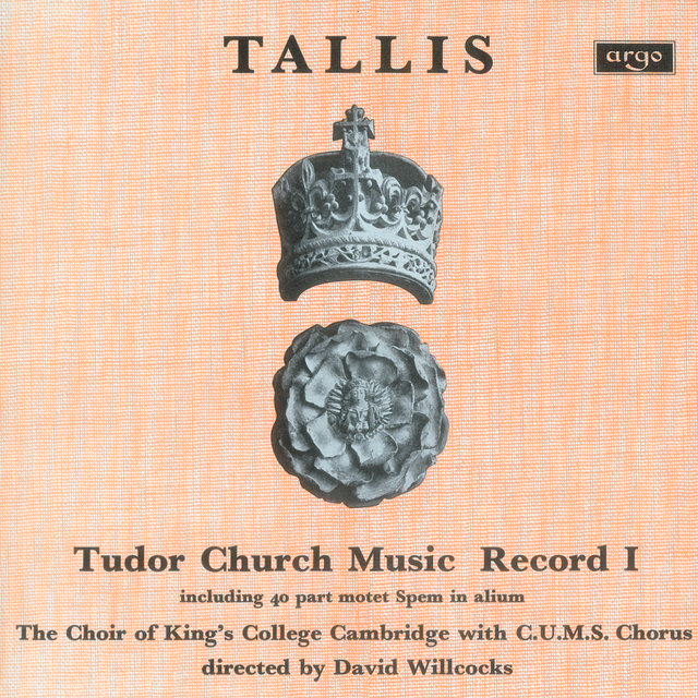 Tallis: Tudor Church Music I (Spem in alium) (Remastered 2015)