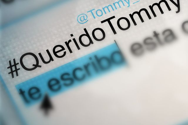 Querido Tommy (Lyric Video)
