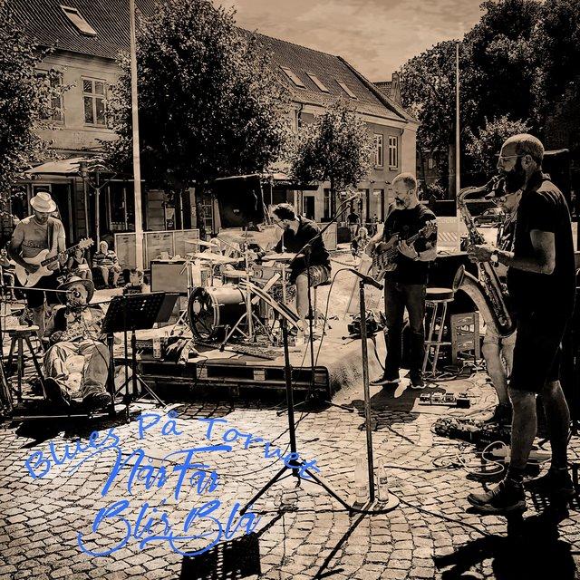 Cover art for album Blues På Torvet by Når Far Bli'r Blå