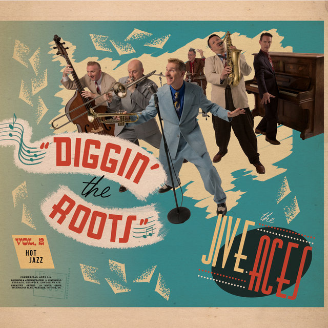 Cover art for album Diggin' The Roots Vol 2: Hot Jazz by The Jive Aces