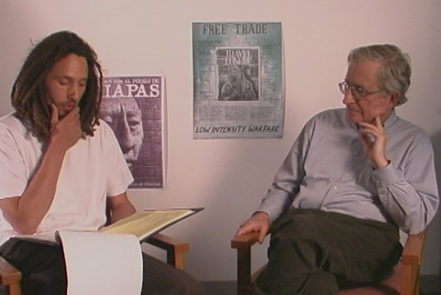 Interview with Noam Chomsky (from The Battle Of Mexico City)