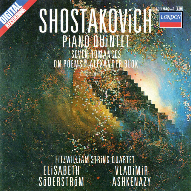 Shostakovich: Piano Quintet; Seven Poems Of Alexander Blok; Two Pieces For String Quartet