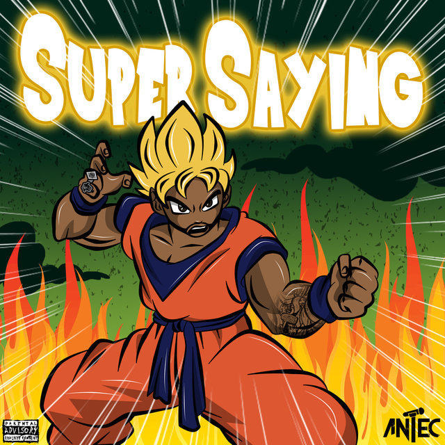 Cover art for album Super Saying by Antec