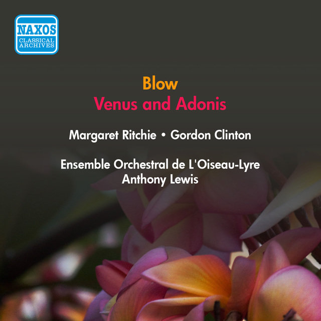 Blow, J.: Venus and Adonis (Ritchie, Clinton, Field-Hyde, A. Lewis) (1953)