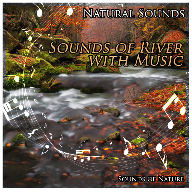 Natural Sounds: Sounds of River with Music