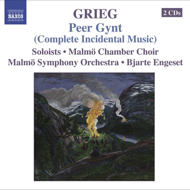 Grieg, E.: Orchestral Music, Vol. 5 - Peer Gynt (Complete Incidental Music) / Foran Sydens Kloster / Bergliot