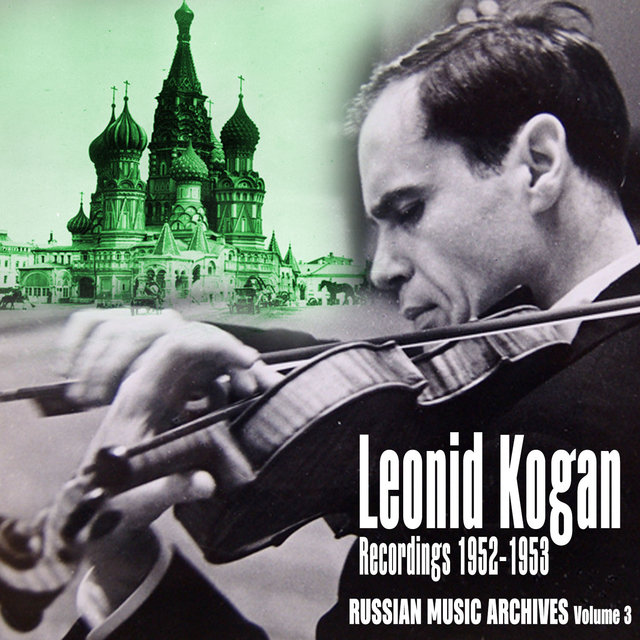 Russian Music Archives, Volume 3 (Recordings 1952 - 1953)