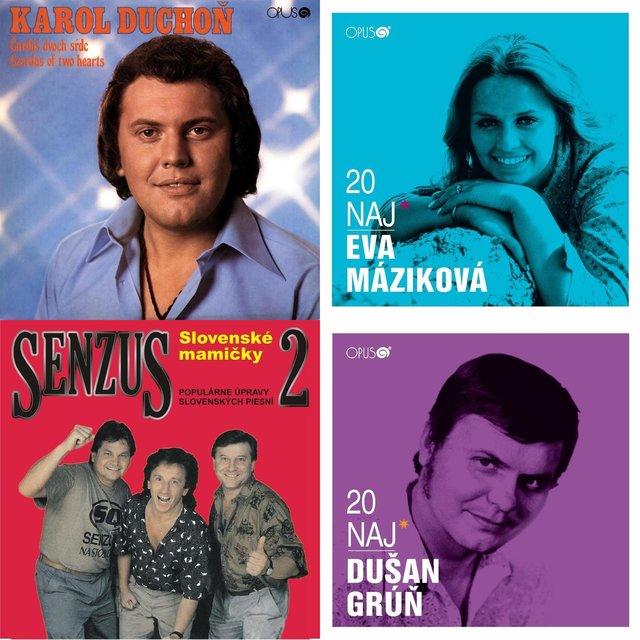 Cover art for album Hudba cez O2: Slovenské šlágre by User