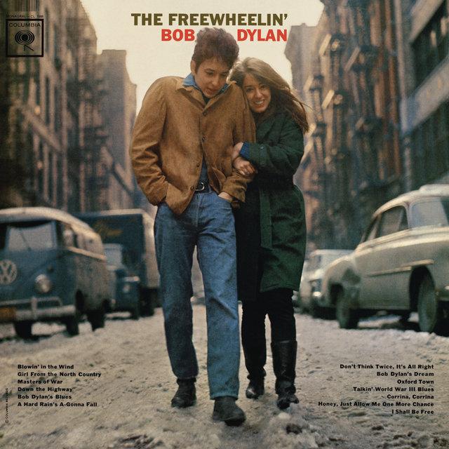 Cover art for album The Freewheelin' Bob Dylan by Bob Dylan