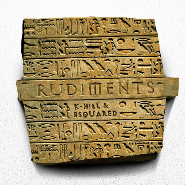 Cover art for album Rudiments by K-Hill