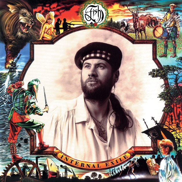 Cover art for album Internal Exile (Deluxe Edition) by Fish