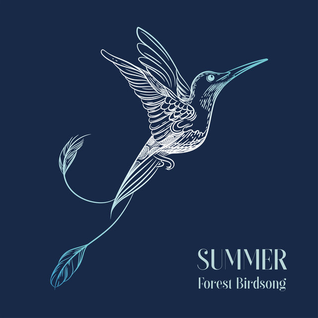 Summer Forest Birdsong - Relax with the Sound of Birds Singing and Piano Melodies