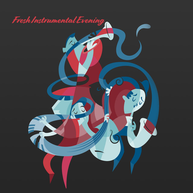 Fresh Instrumental Evening: Relaxing Jazz Melodies at Night, Instrumental Jazz Melodies Perfect for Club, Bar, Party, Blissful Hits for Meeting with Friends, Soothing Jazz Collection
