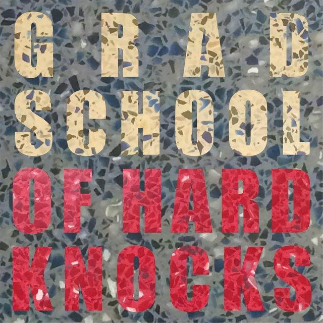 Cover art for album Grad School of Hard Knocks by Danny Saucedo