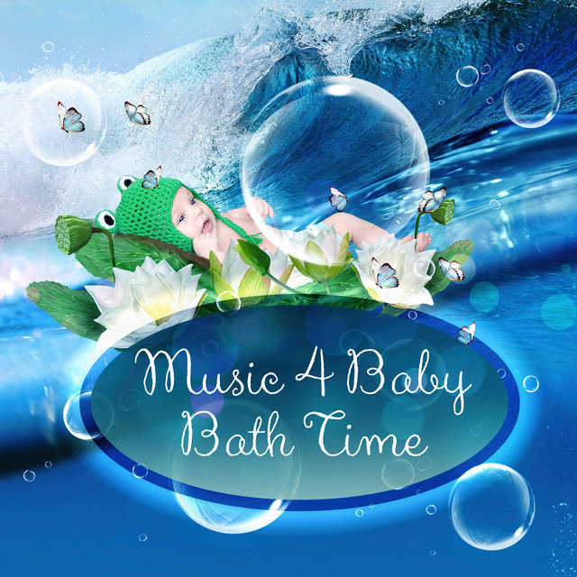 Music 4 Baby Bath Time - Lullabies with Ocean Sounds Baby, Soothing Waterfall, Soft and Calm Sounds for Baby Bath Time, Relaxing Background Music and Nature Sounds