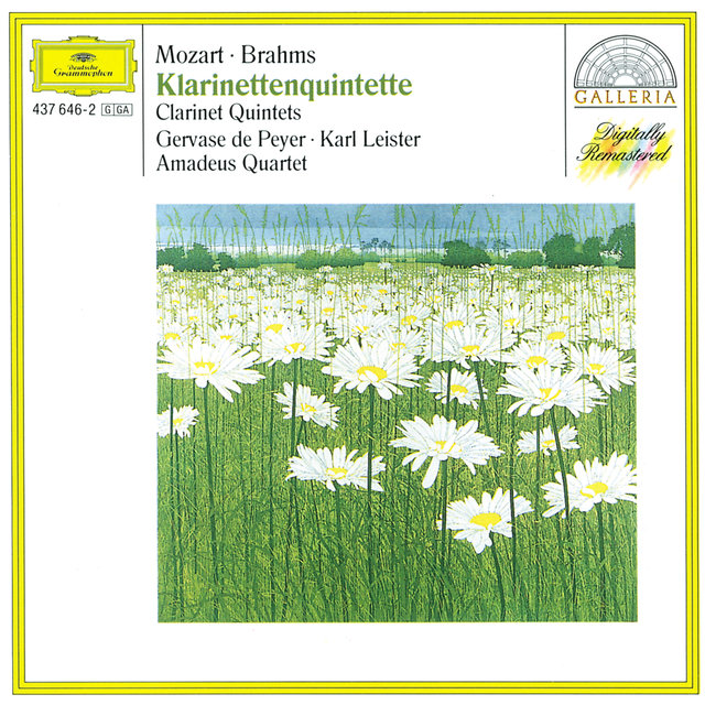 Mozart: Clarinet Quintet K.581 / Brahms: Clarinet Quintet In B Minor, Op. 115