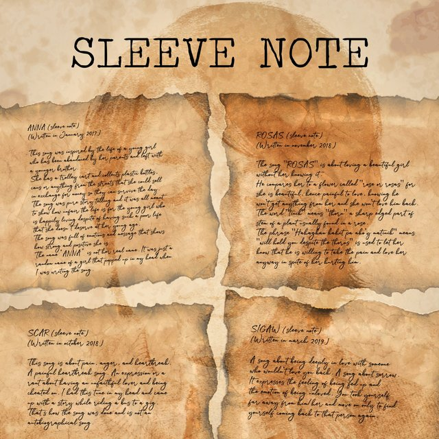 SLEEVE NOTE