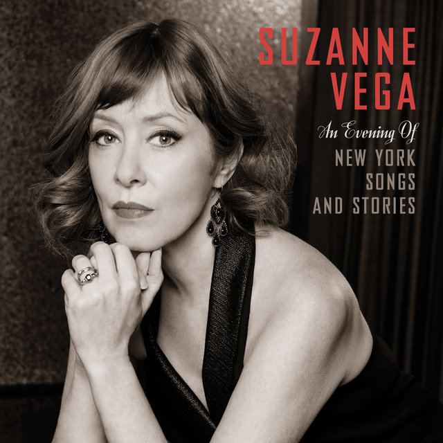 Cover art for album An Evening of New York Songs and Stories by Suzanne Vega