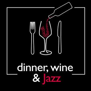 Image result for wine dine and jazz logo
