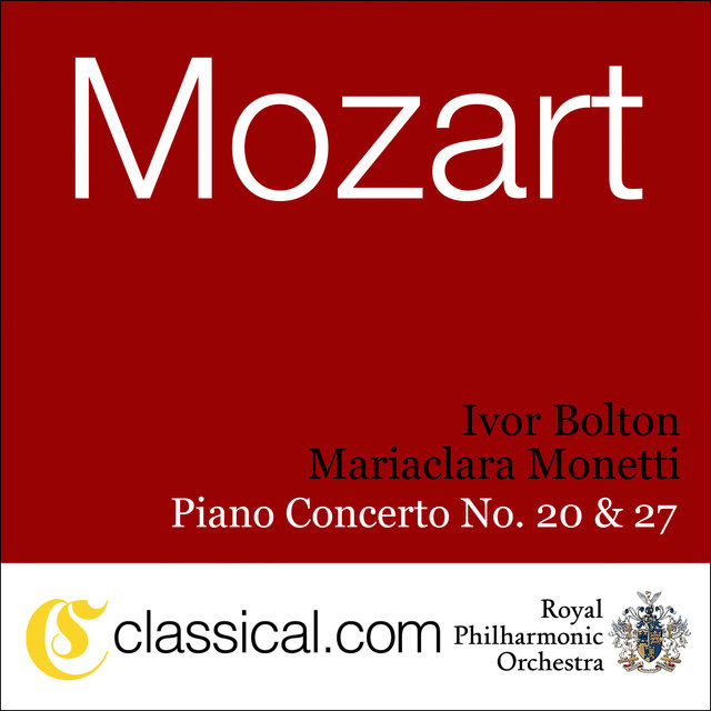 Wolfgang Amadeus Mozart, Piano Concerto No. 20 In D Minor, K. 466