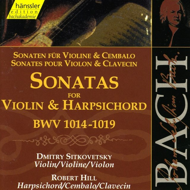 Bach, J.S.: Sonatas for Violin and Harpsichord, Bwv 1014-1019