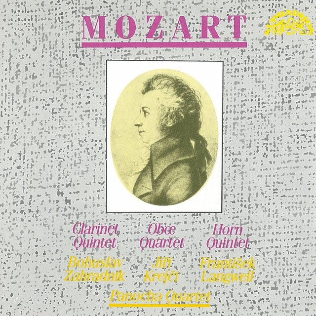 Mozart: Quintet in A Major, Quartet in F Major, Quintet in E Flat Major