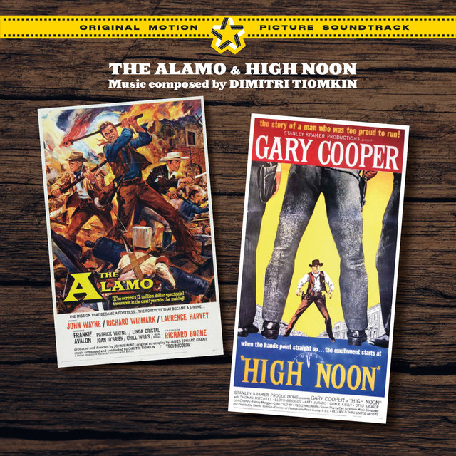 The Alamo & High Noon (Original Motion Picture Soundtracks) [Bonus Track Version]
