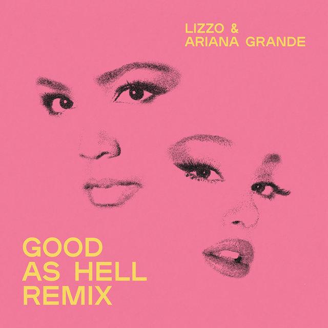 Cover art for album  by Lizzo, Ariana Grande
