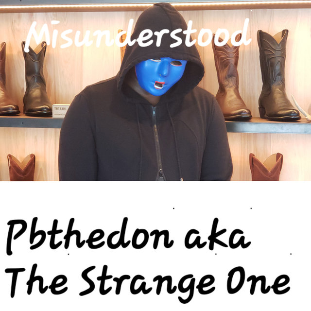 Cover art for album  by The Strange One