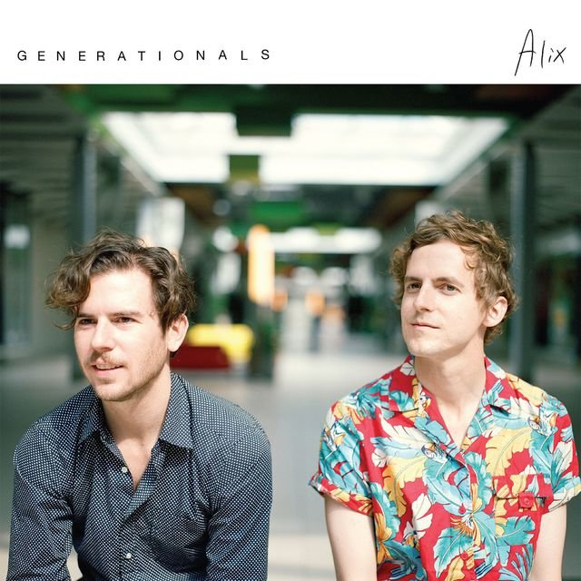 Cover art for album Alix by Generationals