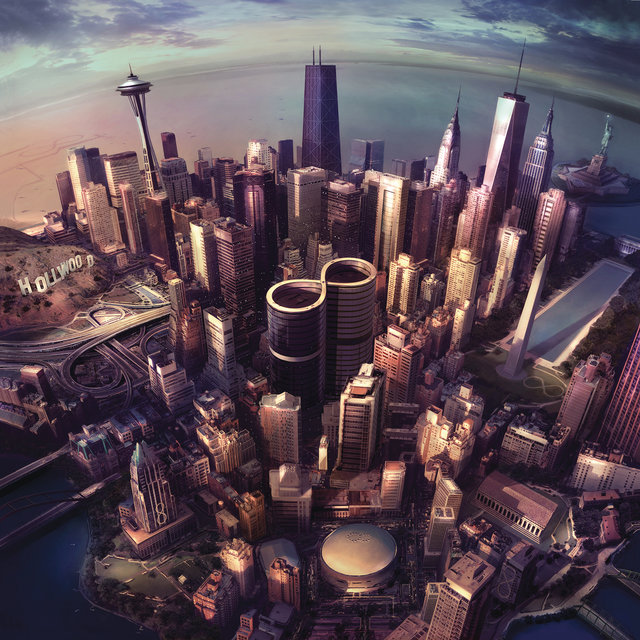 Cover art for album Sonic Highways by Foo Fighters