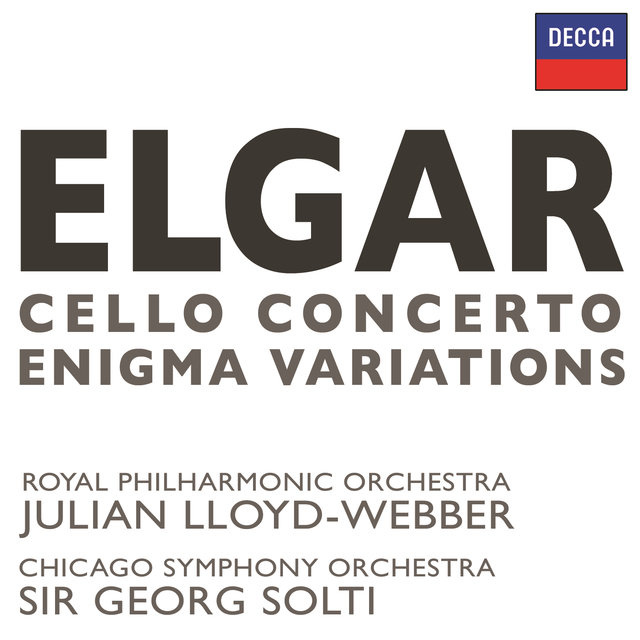 Elgar: Cello Concerto / Enigma Variations