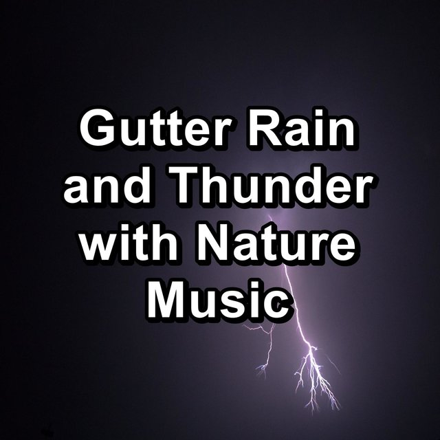 Gutter Rain and Thunder with Nature Music