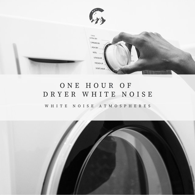 1 Hour of Dryer White Noise