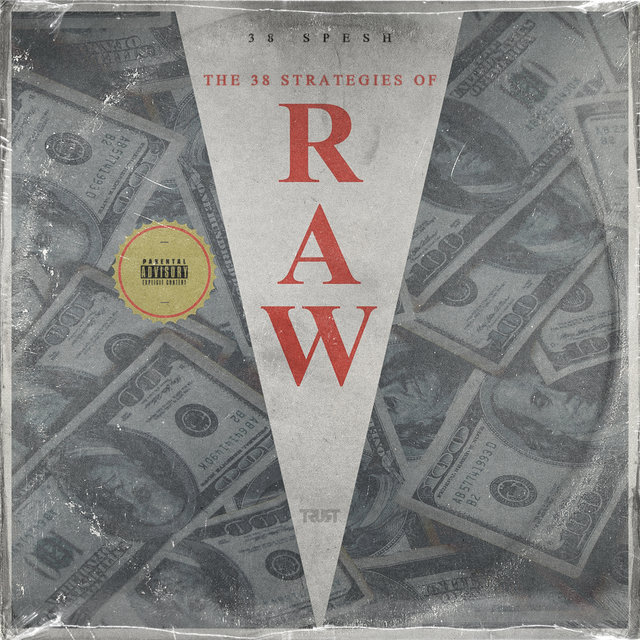 Cover art for album 38 Strategies Of Raw by 38 Spesh