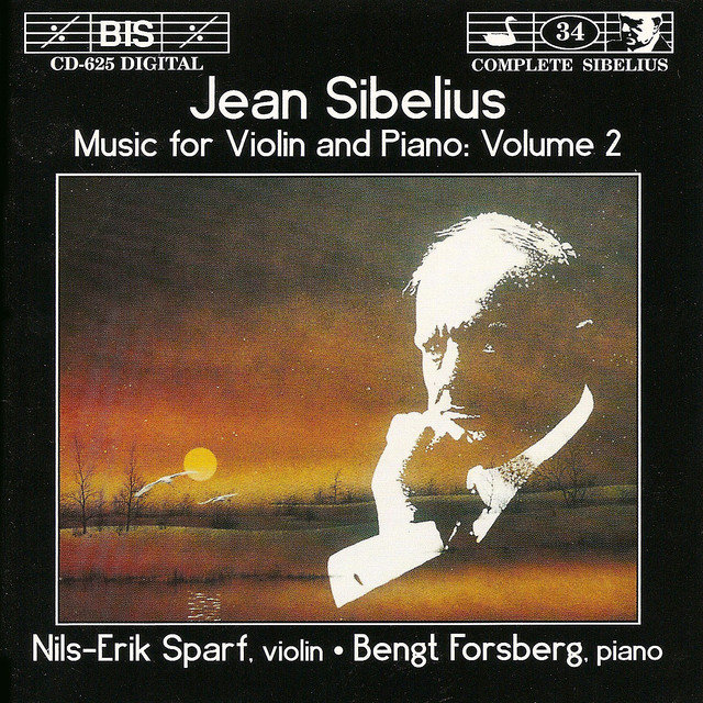 Sibelius: Music for Violin and Piano, Vol. 2