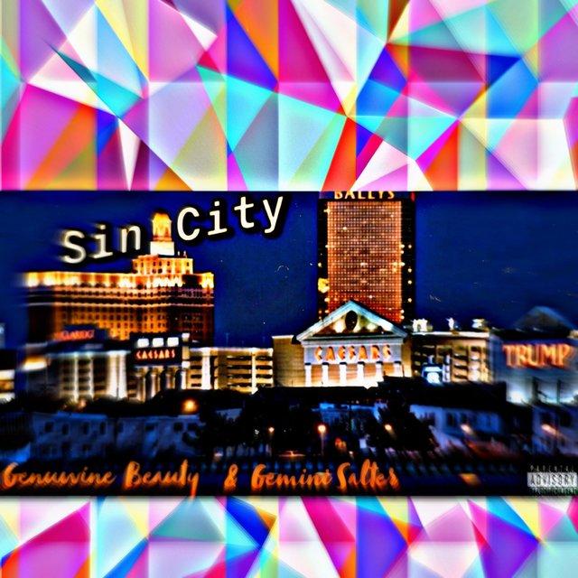 Cover art for album Sin City (feat. Gemini Salter) by Genuwine Beauty