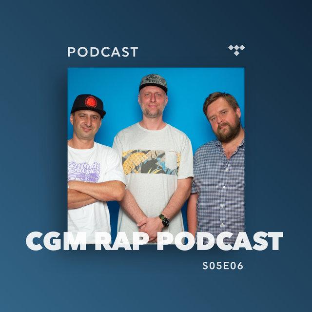 Cover art for album  by CGM Rap Podcast, Wujek Samo Zło, Marcin Flint, Numer Raz