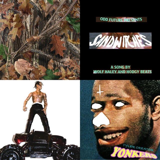 Cover art for album Travis Vs Tyler by User