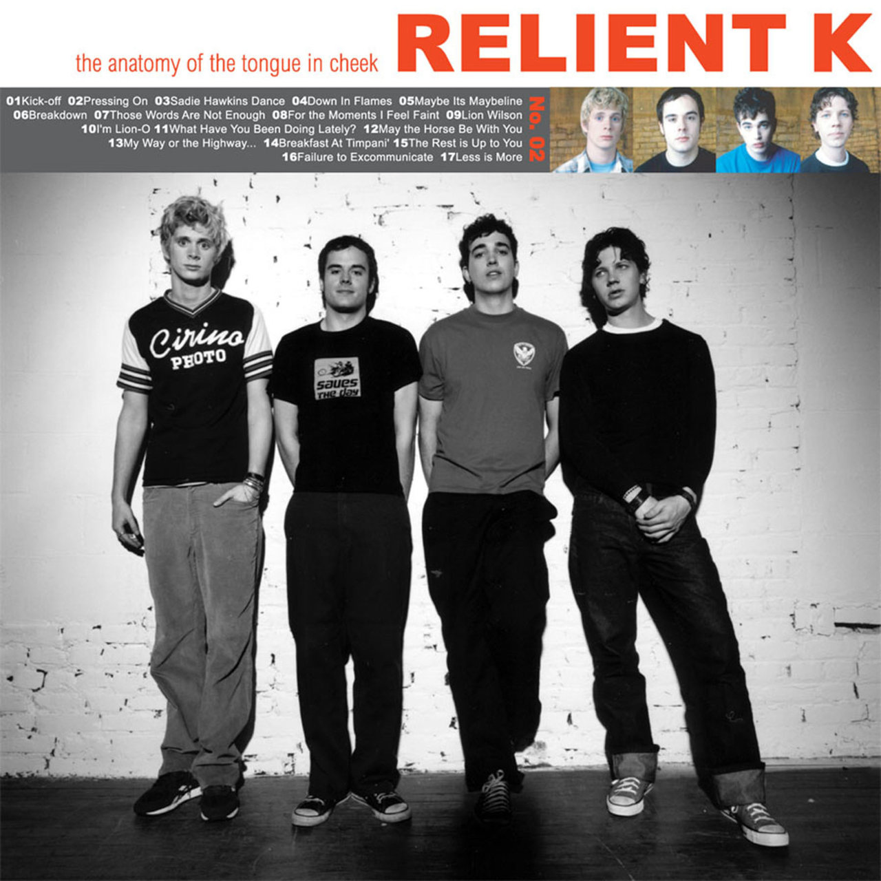 The Anatomy of the Tongue in Cheek / Relient K TIDAL