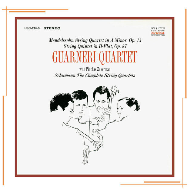 Mendelssohn and Schumann: String Quartets