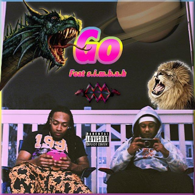 Cover art for album Go (feat. S.I.M.B.A.H) by Mva