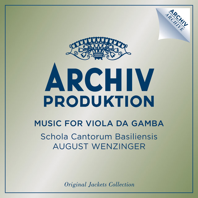 Music For Viola Da Gamba